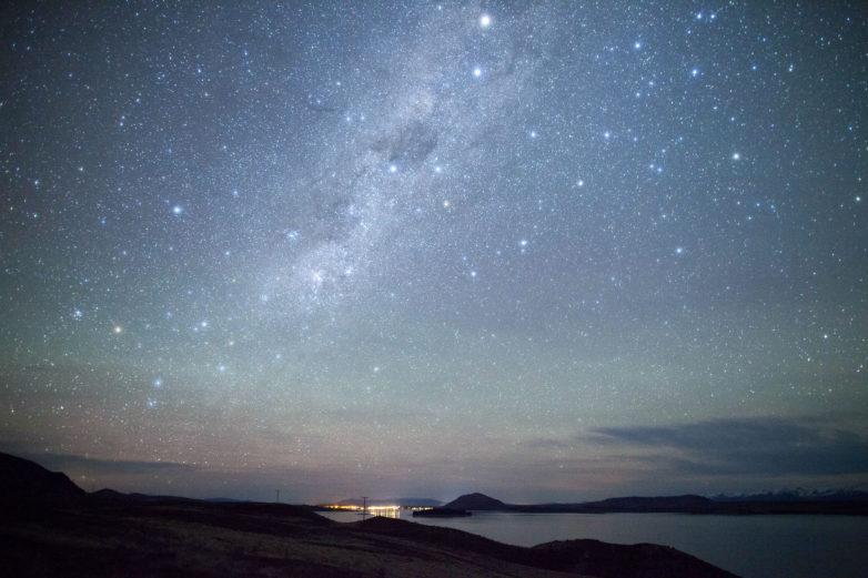 Night sky, Tekapo