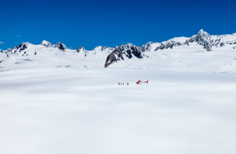 Glacier Tours. New Zealand