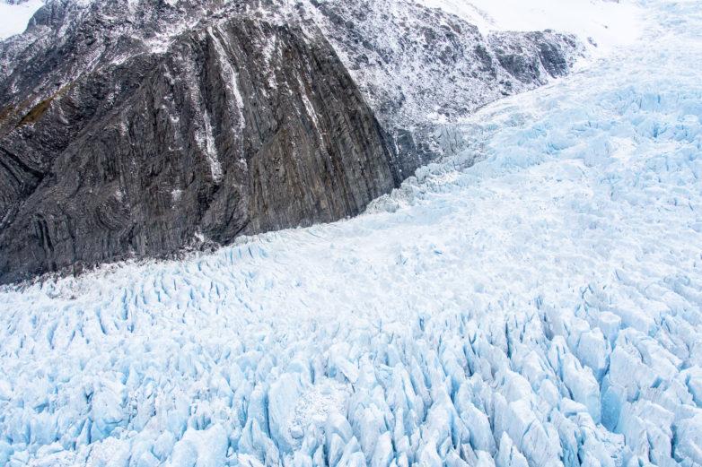 West Coast glacier