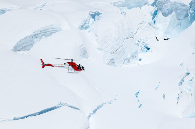 Glacier helicopter tours