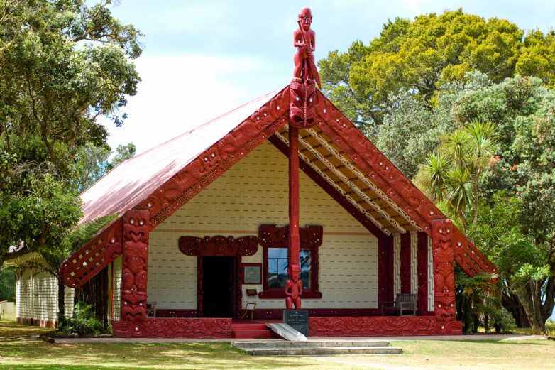 Meeting house, Waitangi