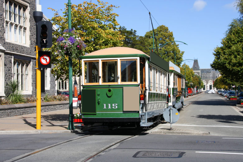 Tours on Christchurch Tram