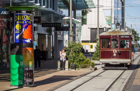 Tours including Christchurch