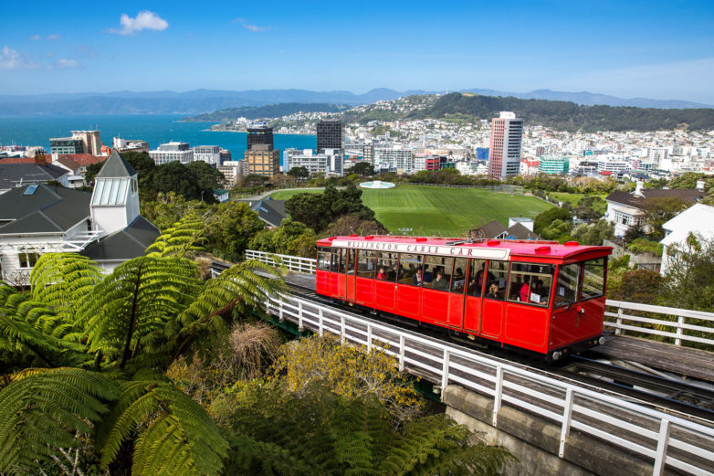 Cable Car, Wellington