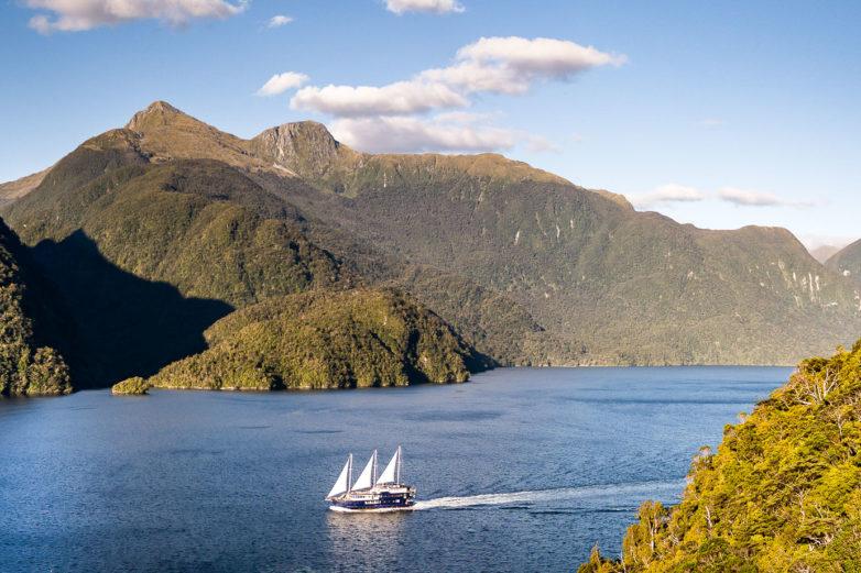 Fiordland Navigator, Doubtful Sound