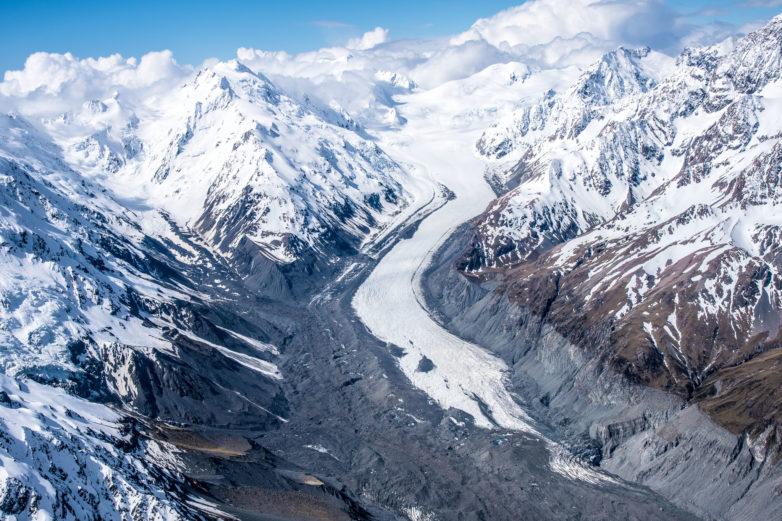 Tasman Glacier, Southern Alps