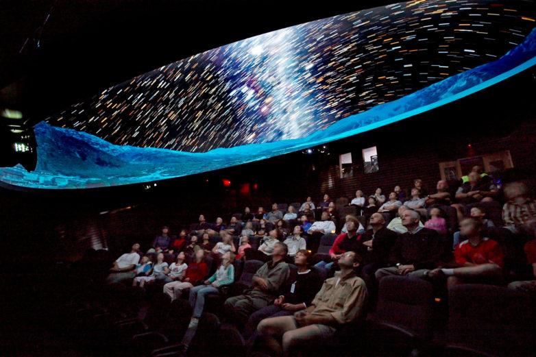 Digital Dome Planetarium, Mt Cook
