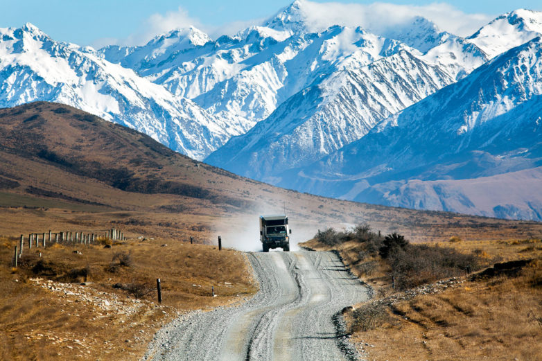 Mt Potts Road, Edoras