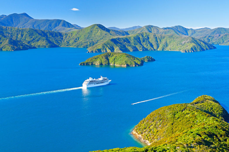 Marlborough Sounds. Credit: Rob Suisted
