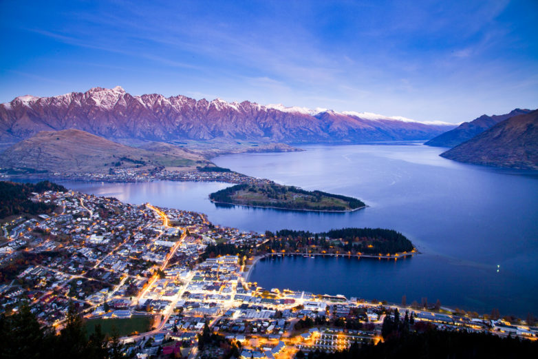 Tours including Queenstown