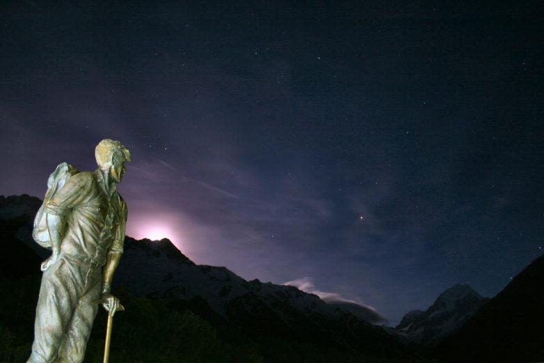 Stargazing, Mt Cook