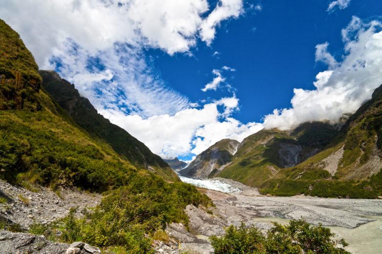 Glacier country