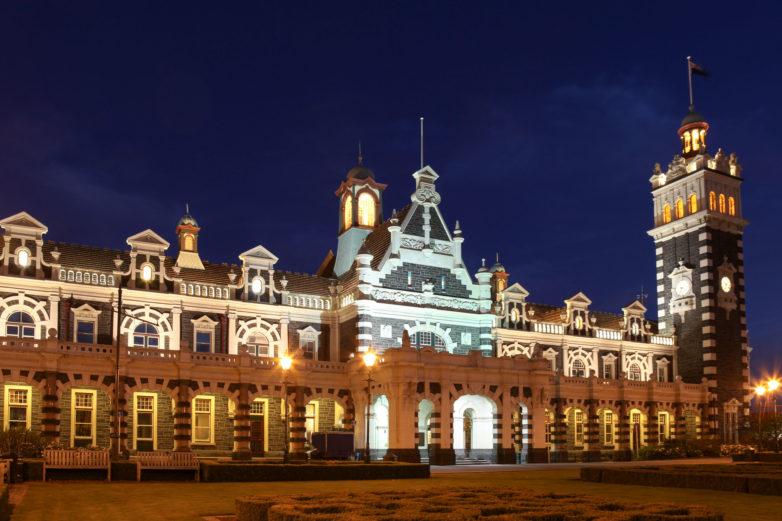 Stunning Dunedin Railway Station