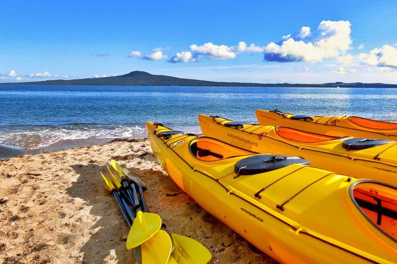 Auckland kayaking