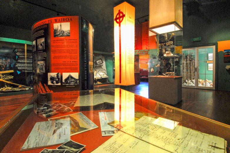 Museum of Te Wairoa, Buried Village