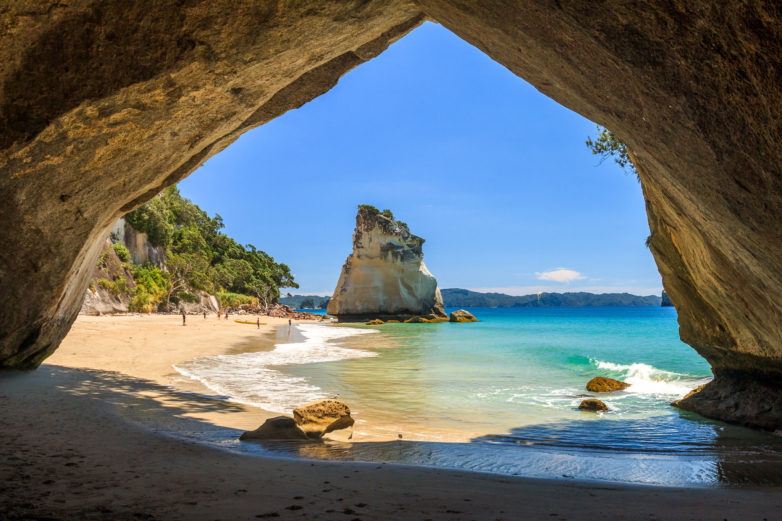 Stunning Cathedral Cove