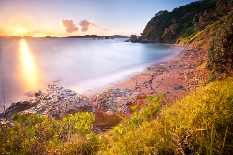 Beach in Russell, Bay of Islands
