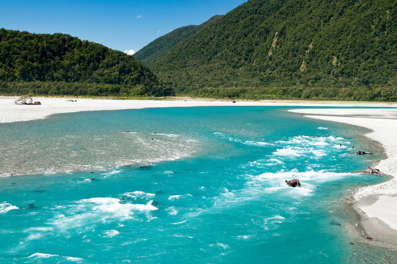 Haast River, West Coast