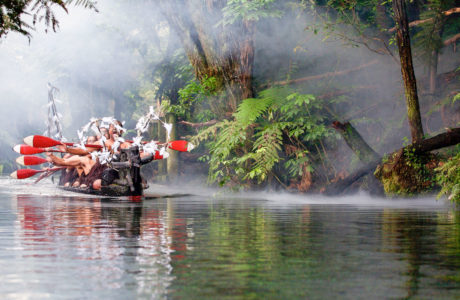 Traditional Maori Cultural Experience & Hangi