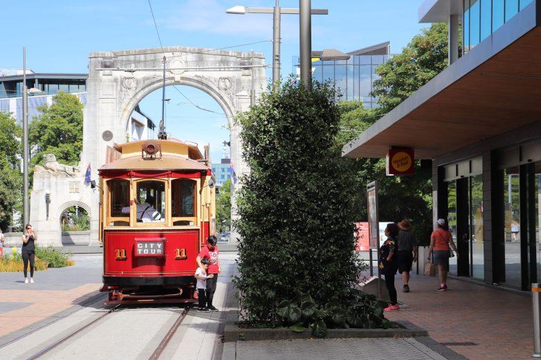Christchuch Tram