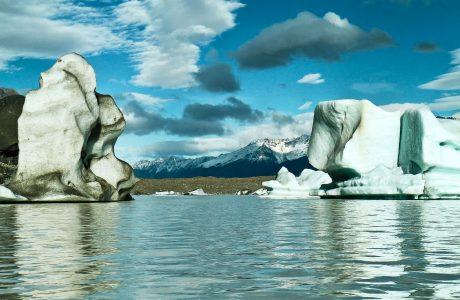 Tasman Glacier Mt Cook, New Zealand