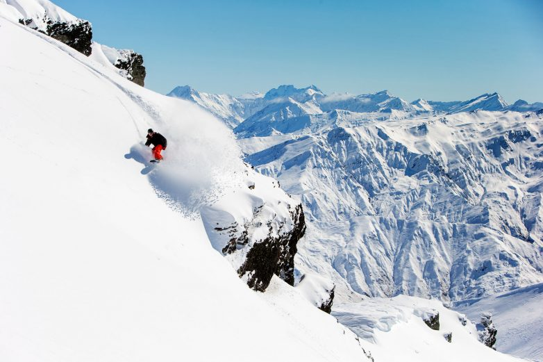 Snowboarding, Cardrona Alpine Resort