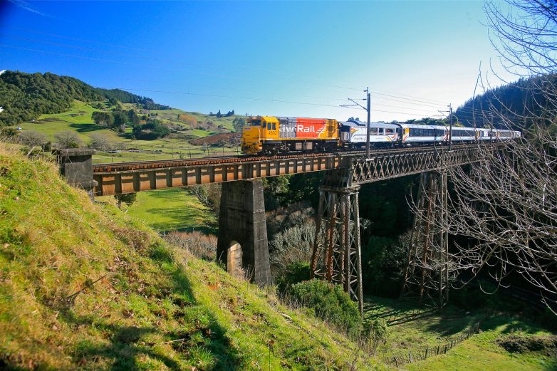 Northern Explorer, Waiteti Viaduct