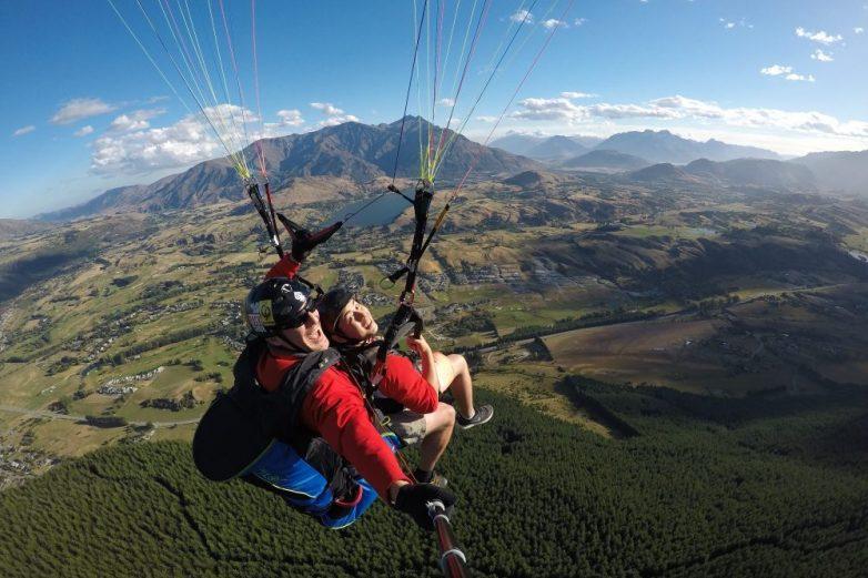 Coronet Peak Paragliding