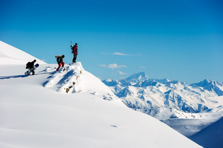 Backcountry hiking in Cardrona