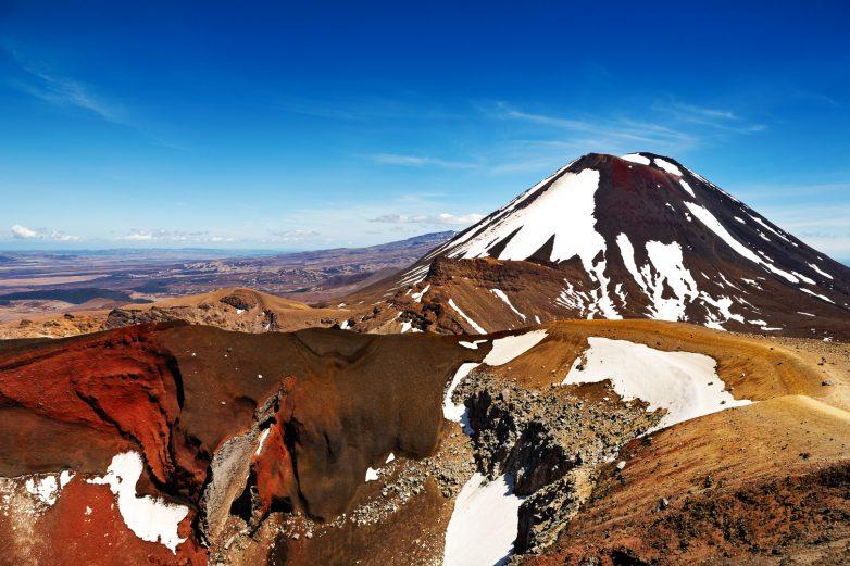Mt Ngauruhoe, Tongariro