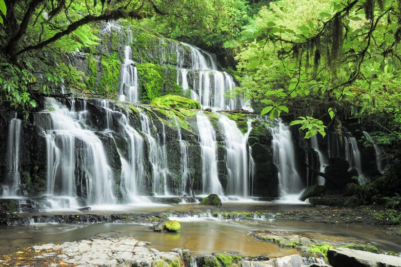 Purakaunui Falls, Catlins
